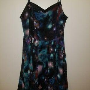 Xl forever 21 galaxy dress.